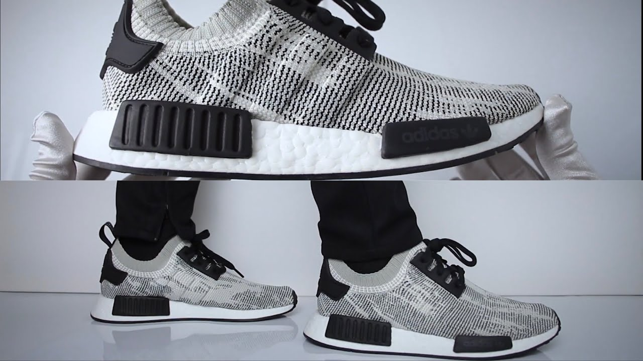 6085685c Adidas NMD R1 ''Sesame''(review) - UNBOXING & ON FEET - YouTube
