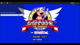 Beta the hedgehog (sonic the hedgehog on roblox /beta/) part 2