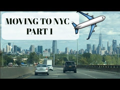 MOVING TO NEW YORK CITY! NYC VLOG PART 1: Interviewing for new Job!