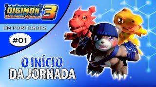 Digimon World 3 #01 - O início da Jornada! (PS1 Gameplay Português PT-BR)