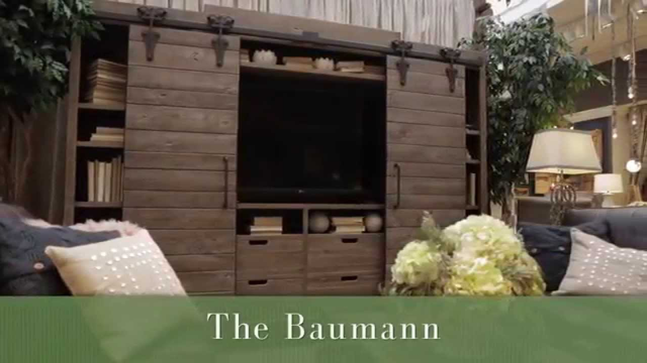 Arhaus Furniture The Baumann Media Center Youtube