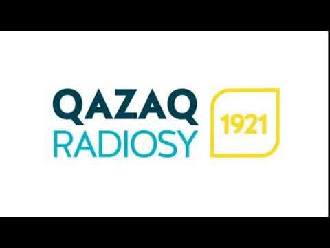 Fragment from Qazaq Radiosy (Kazakh Radio, Kazakhstan). 12.01.2021