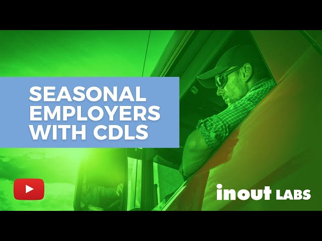 Seasonal employers with CDLs have specific drug testing challenges. Here's one solution.