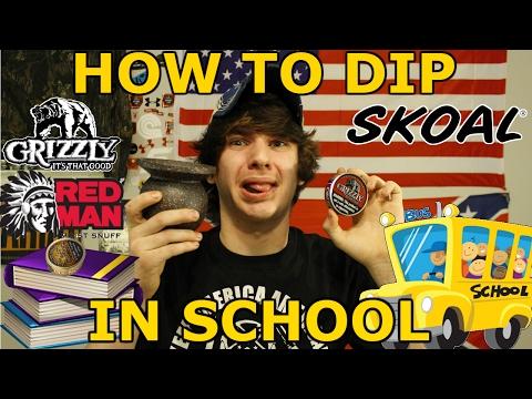 How To Dip In School!