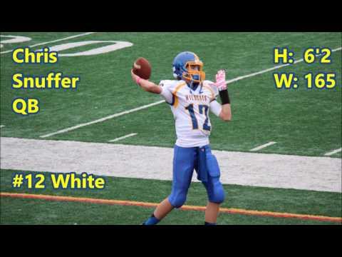 Chris Snuffer #7/#12 Maple Shade High School - 2016 Highlights