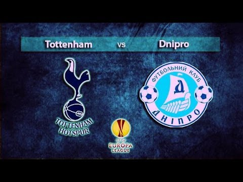Tottenham Spurs 3 - Dnipro 1 ► Europa League HD