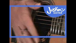 Folk Fingerstyle 1 (Guitar Lesson TE-021) How to play