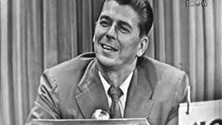 What's My Line? - Ronald Reagan (Jul 19, 1953) [W/ COMMERCIALS]
