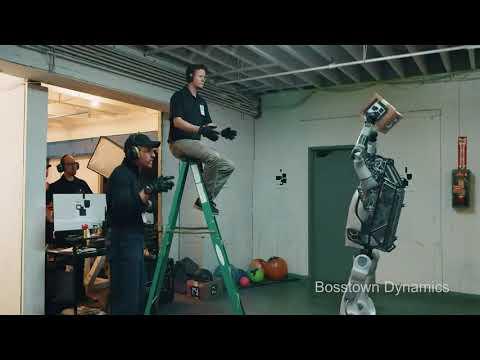 Boston Dynamics : the Robot Fight Back (parody)