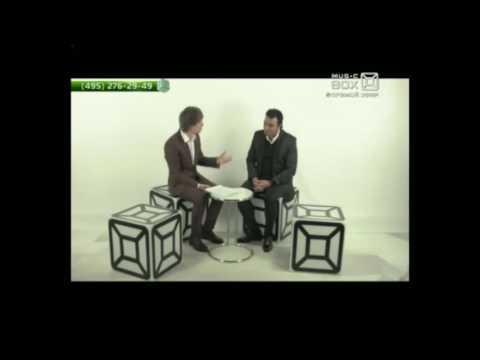 """Мехди в прямом эфире на канале Musicbox TV.  Программа """"Сверхспособности""""."""