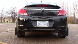 Buick Regal Turbo Resonator and Muffler Delete