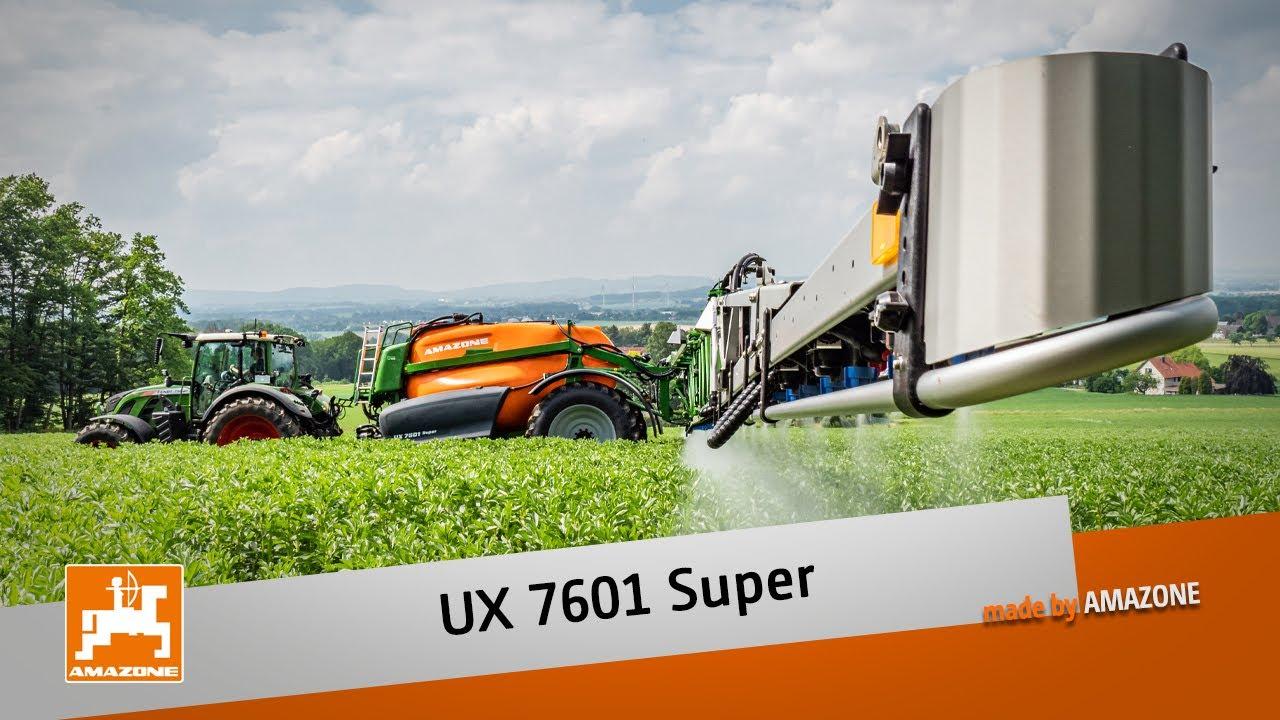 Anhängefeldspritze UX 7601 Super mit 42 m Arbeitsbreite   AMAZONE