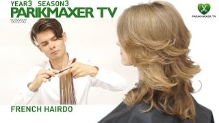 Французская укладка French hairdo парикмахер тв parikmaxer.tv