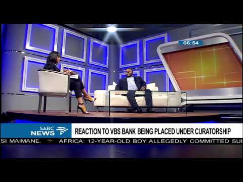 Mzansi Business forum adds its voice over curatorship of VBS bank