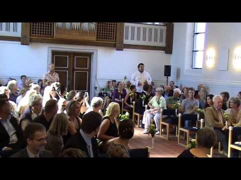 One Day More - Les Miserables Amazing flash mob at our wedding!