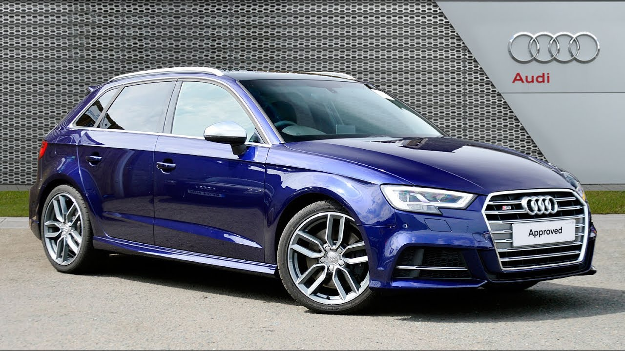audi a3 s3 sportback quattro blue 2016 youtube. Black Bedroom Furniture Sets. Home Design Ideas
