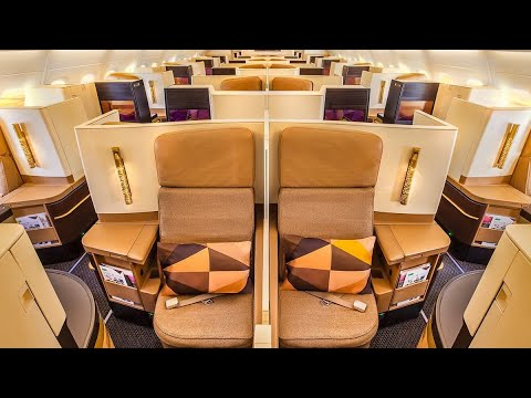 Etihad Airways Boeing 787 Dreamliner Business Class (Studio) from Abu Dhabi to Bangkok