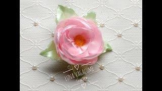Como fazer flor com fita de cetim