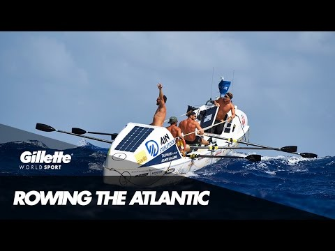 Rowing the Atlantic with Ocean Reunion | Gillette World Sport