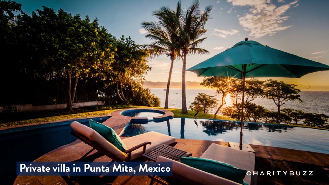 5-night stay at villa lunada, a private ocean front estate in