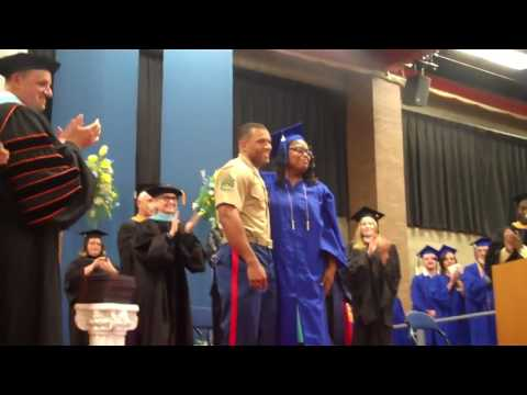 Richland Community College 2017 Graduation Surprise