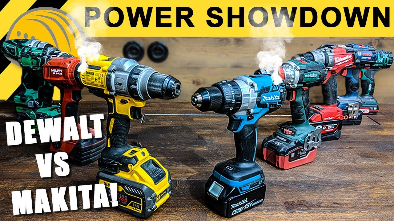 akkuschrauber test extrem | power showdown teil 2 - hilti, makita