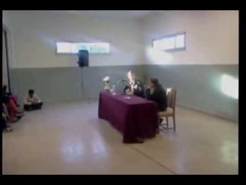 Pedro Aznar - Charla en F. Varela (pregunta sobre el arte)