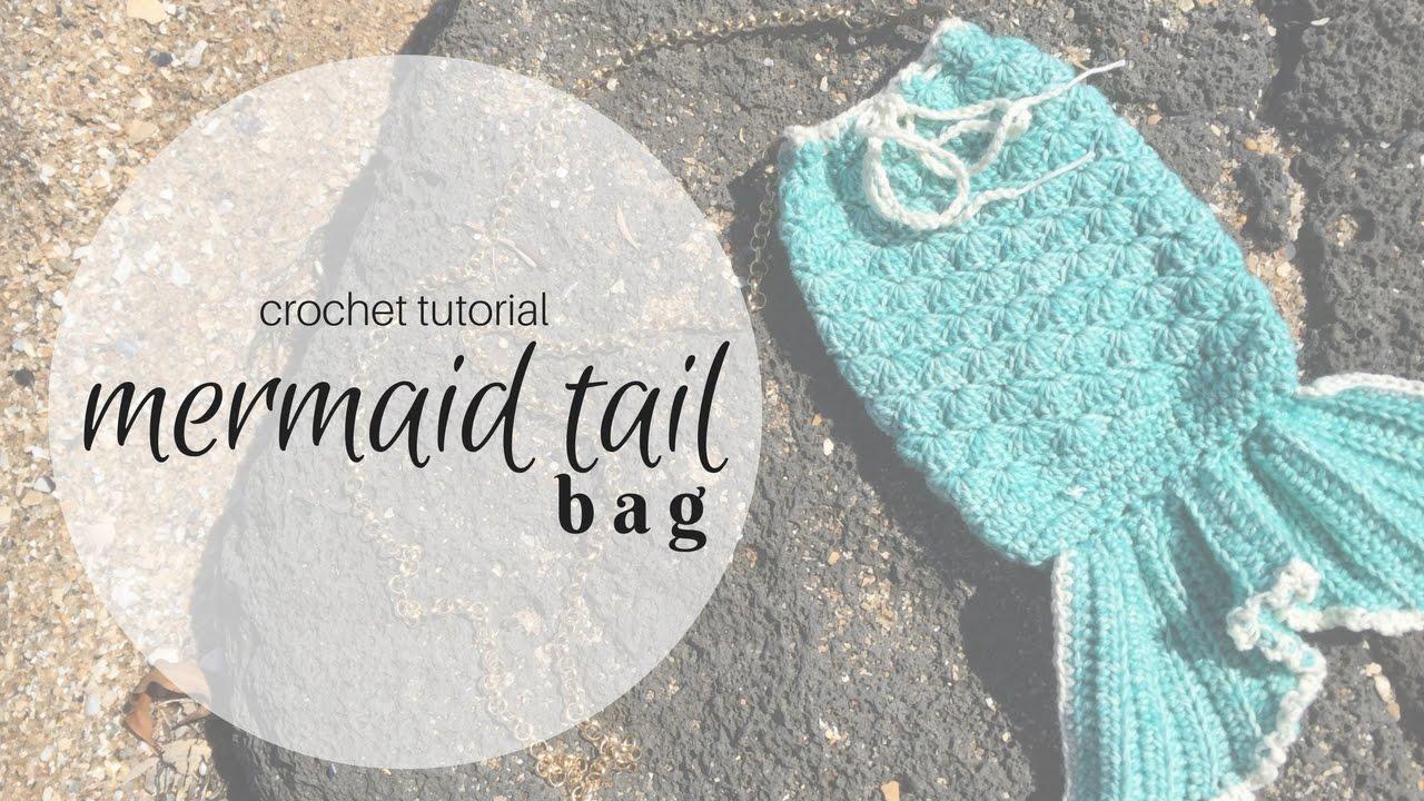 Crochet Mermaid Tail Bag Youtube