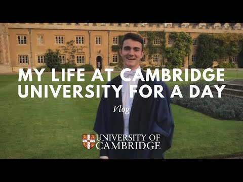 Cambridge University - My life for a day | VLOG 1