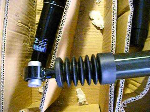 Peugeot 206 Coilover D2 Product Unboxing Street Circuit