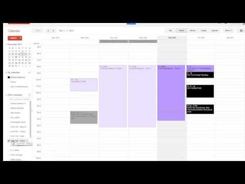 IAA - Booking a Conference Room in Google Calendar