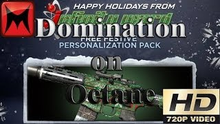 Call of Duty Ghosts PC Groundwar Domination on Octane Xmas Camo Gameplay HD720p