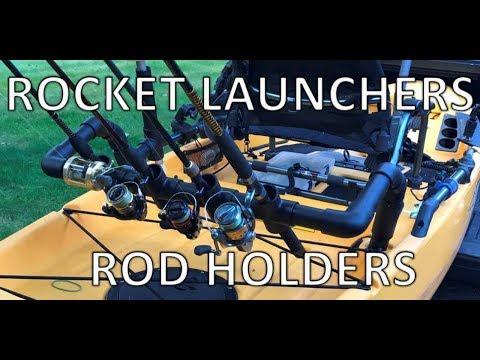 Kayak Rocket Launchers Rod Holders - PVC