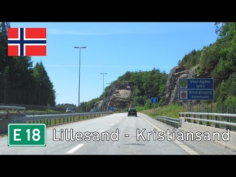 Norway: E18 into Kristiansand