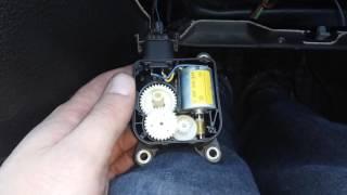 мотор заслонки рециркуляции воздуха Astra G