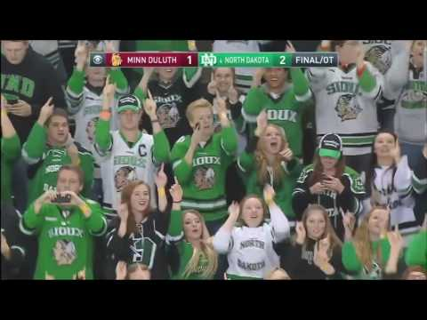UND hockey - A Game Day Experience at the REA