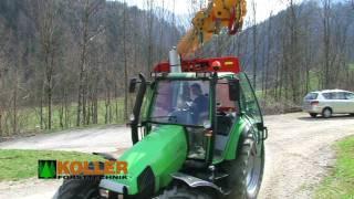 K602 H - Triebachse und Arbeitseinsatz