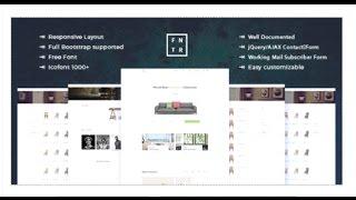 Furniture E-Commerce HTML Template   Themeforest Download