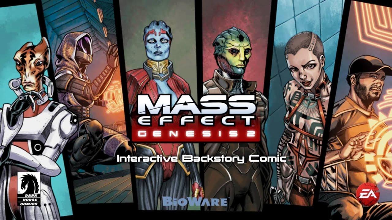 Mass Effect 2: Genesis DLC: With Danuta! - YouTube