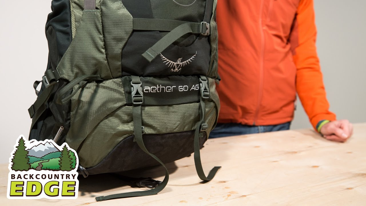 d77d9af6a6 Osprey Aether AG 60 Internal Frame Backpack - YouTube