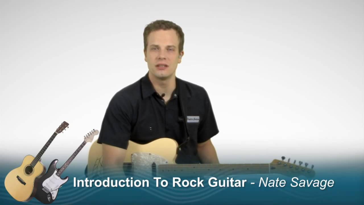 Introduction To Rock Guitar Lessons - How To Play Rock ...
