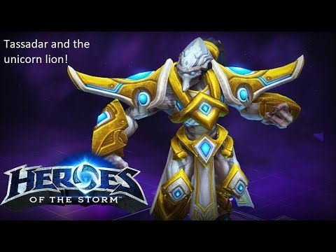 Heroes of the Storm 3 - Tassadar and the unicorn lion