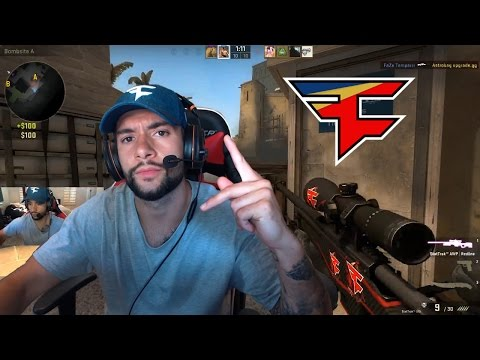 FAZE TEMPERRR PLAYS CS:GO