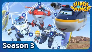 Underground City | super wings season 3 | EP19