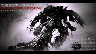 "Transformers Universe | Soundtrack Remix | ""Megatron Returns"""