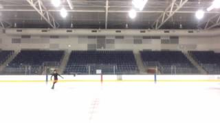 (Yuri!!! on Ice)I TRIED TO SKATE TO HISTORY MAKER!!