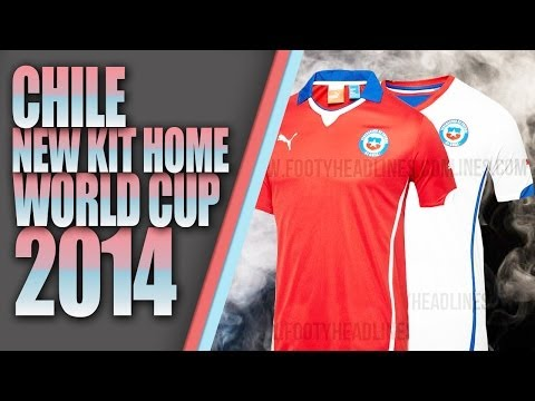 CHILE NEW KIT HOME Y AWAY  WORLD CUP 2014 by AKMALRW [ PES 2013 ] [ DESCARGA ]