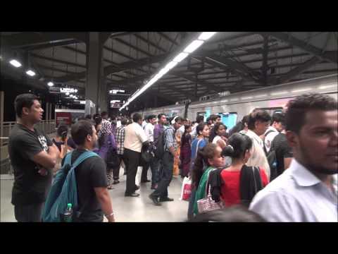Beautiful Night Travel Compilation Of Reliance Infra Mumbai Metro Trains !!!
