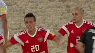 ЧМ по пляжному футболу 2019 европейский отбор в Москве Россия Испания Все голы