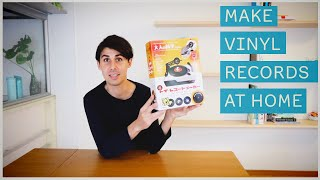 Record Your Own Vinyl Records at Home (with the toy record maker)